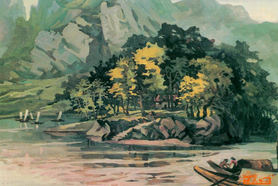 名家 罗德玉 油画 水粉风景写生
