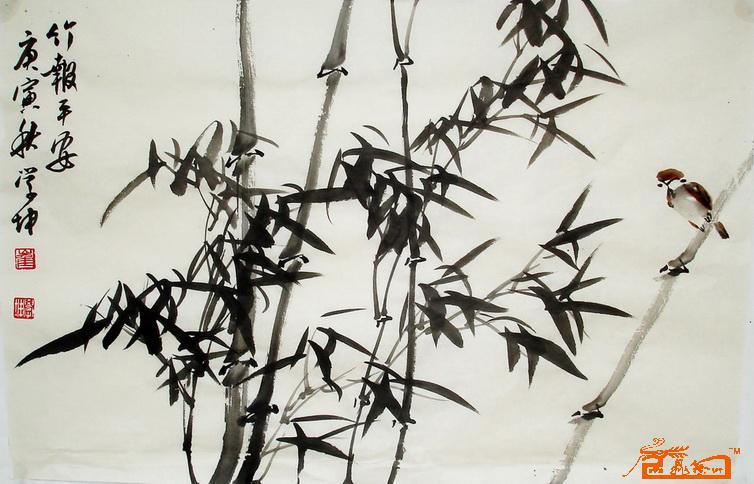 画柳树的简笔画画法