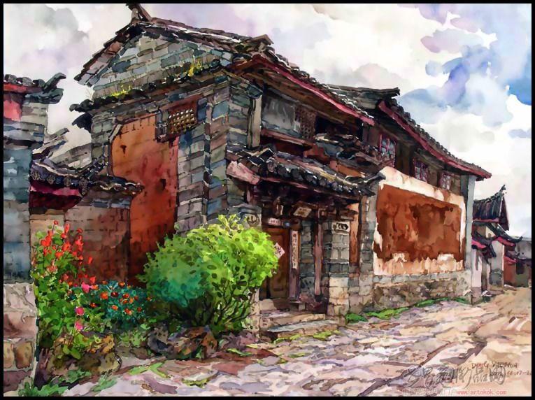 泸州油画风景名家